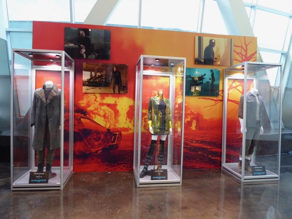 Blade Runner 2049 movie costume exhibit