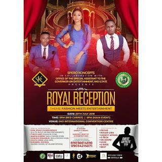EVENT: Royal Reception, Fashion Meets Entertainment