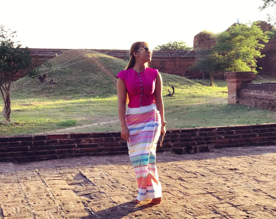 Nang Thiri Maung In Bagan , Beautiful Shots