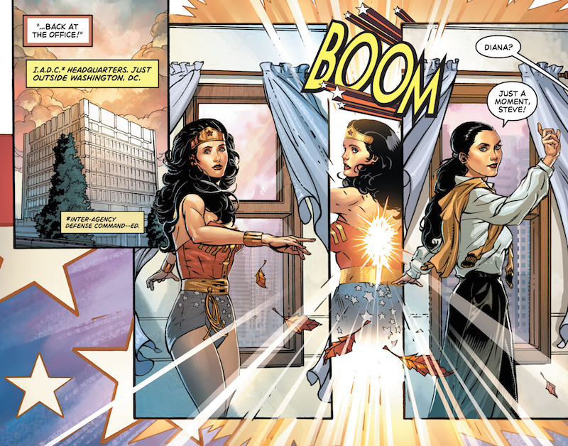WONDER WOMAN '77 SPECIAL #1 by Marc Andreyko, Drew Johnson, Matt Haley, Jason Badower, Richard Ortiz, Nicola Scott, Annette Kwock, Romulo Fajardo Jr., Wes Abbott