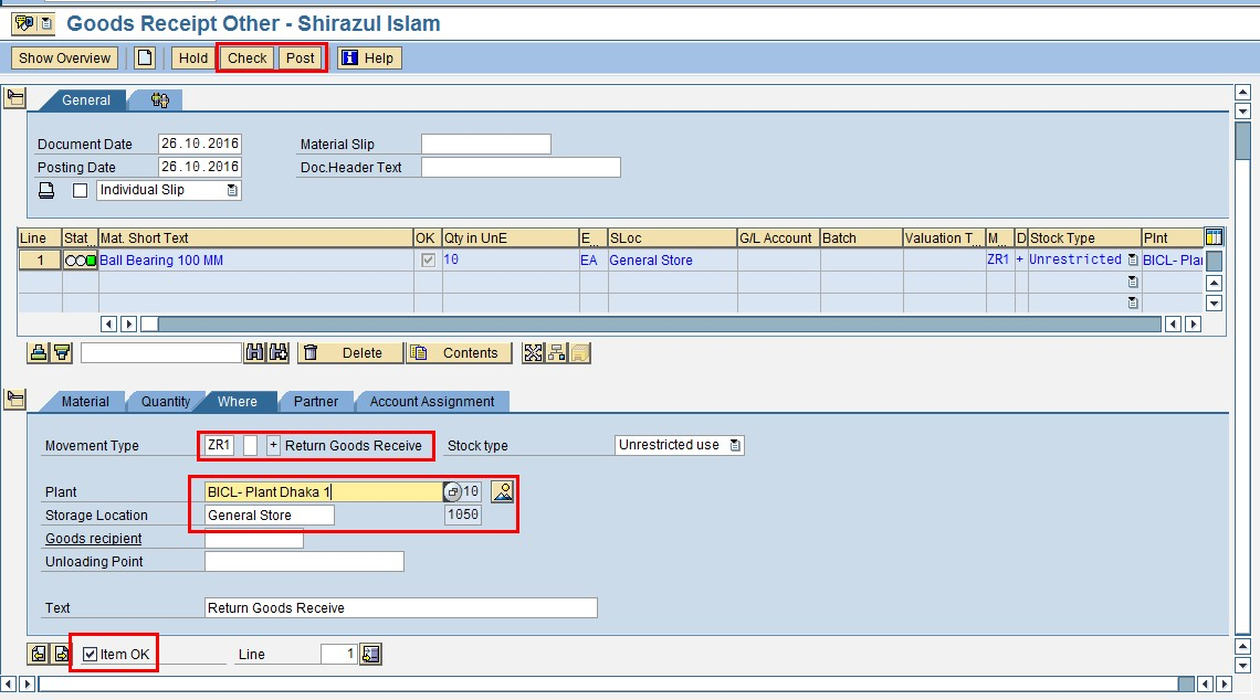 how to create new material type in sap mm