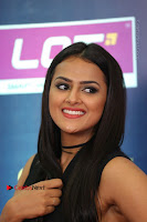 Actress Shraddha Srinath Stills in Black Short Dress at SIIMA Short Film Awards 2017 .COM 0081.JPG