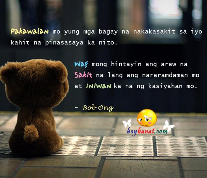 Bob Ong Love Quotes and Sayings ~ Boy Banat
