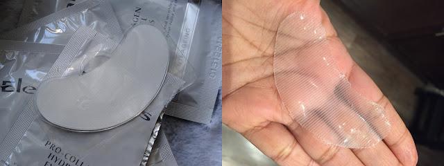 Elemis Exotic Cream Moisturizing Mask and the Pro Collagen Hydra Gel Eye Mask
