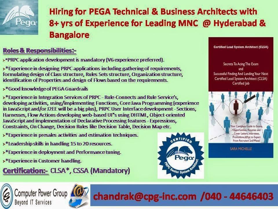 Pega Experience Resumes Choice Image - resume format examples 2018 - pega architect sample resume