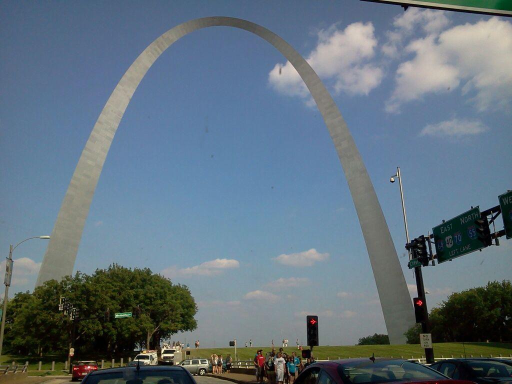 Ziplining Across The Usa Thursday July 11 St Louis Missouri