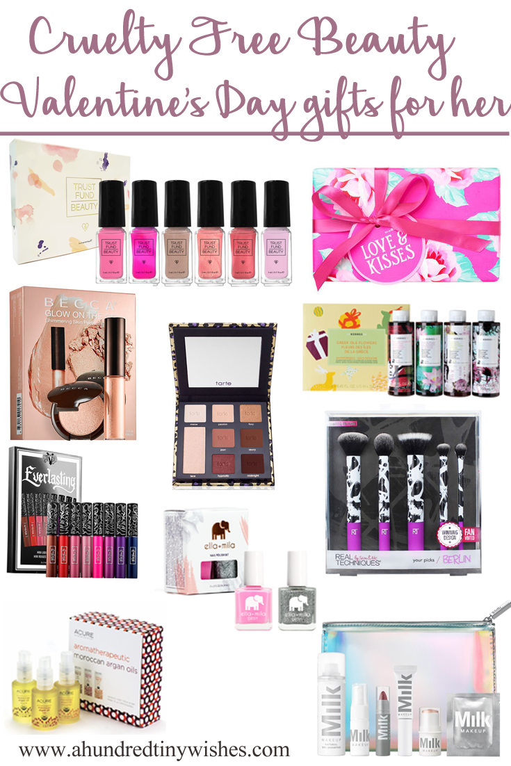 Cruelty Free Beauty | 10 Valentine's Day gifts for HER