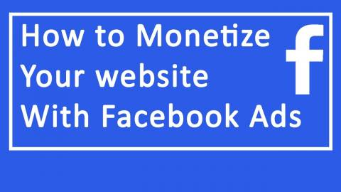 Monetize Your Facebook Advertising