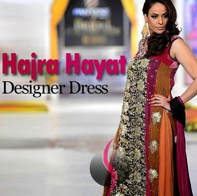 Hajra Hayat Designer Dress Collection 2014 Elegant Designer She9 Change The Life Style