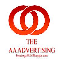 Download Desain logo PSD Dua Lingkaran Gratis