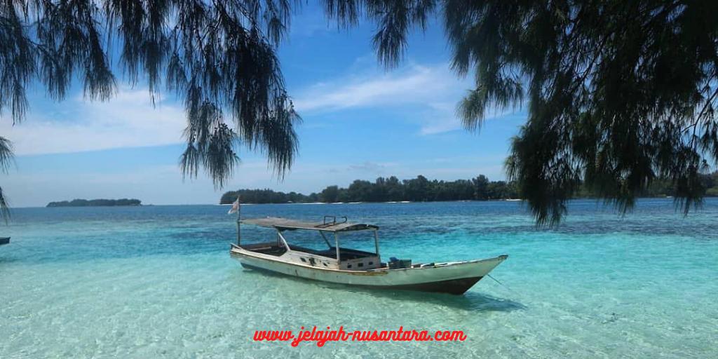 paket wisata private trip pulau harapan 2 hari 1 malam