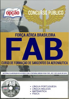 Download Apostila Concurso FAB 2018 PDF