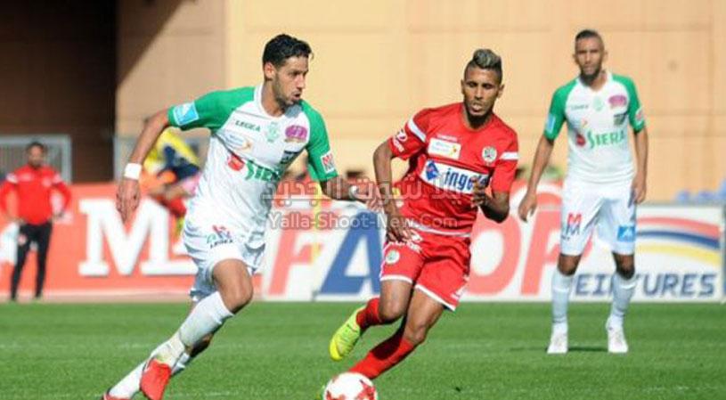 الرجاء بفوز كبير على فريق إتحاد طنجة يصل للمركز الثالث في الدوري المغربي