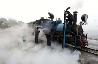 Darjeeling Himalayan Railway steam smoke