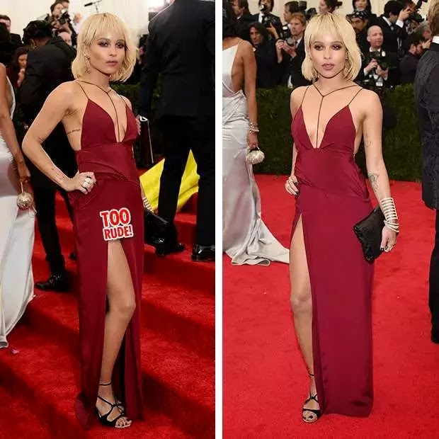 Zoe Kravitz Jennifer Lawrence Friends: BLOG WITH FURY: CATASTROPHIC CELEBRITIES WARDROBES
