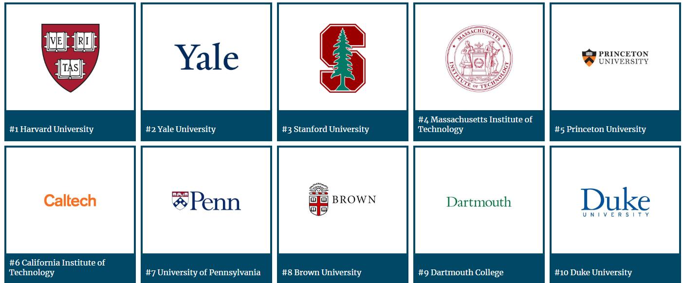 ランキング アメリカ の 大学 パブリックアイビー(Public IVY)