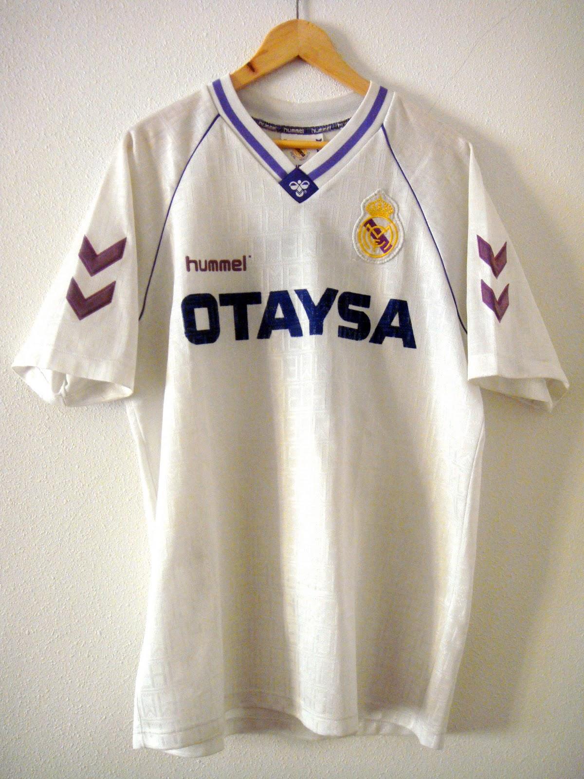 Historias del Real Madrid  HUMMEL 836de0c849d9a
