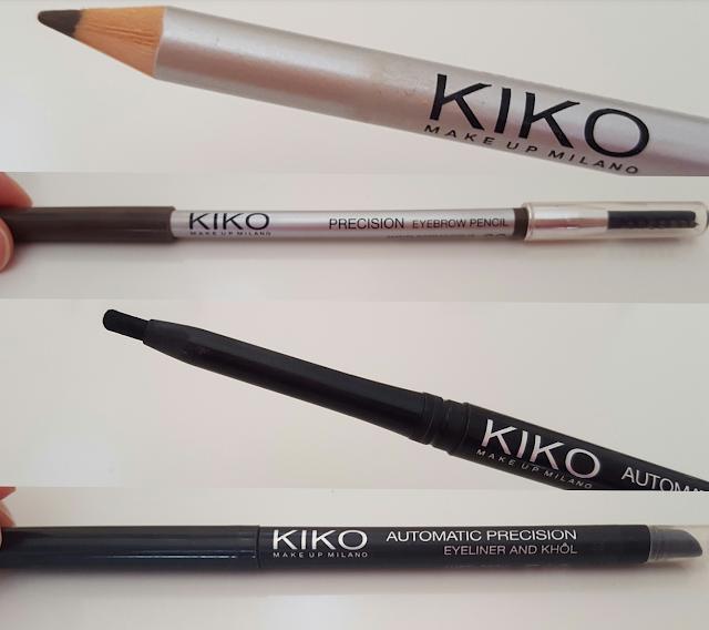 precision eyebrow pencil automatic precision eyeliner and khol kiko