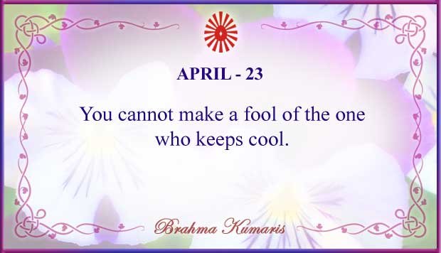 Thought For The Day April 23