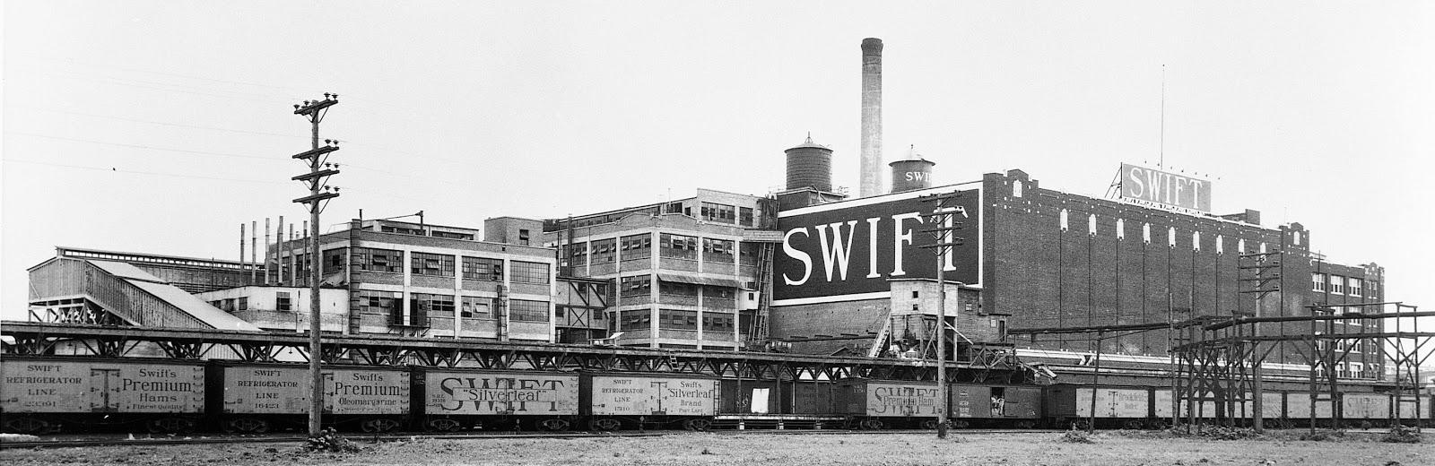 Industrial History Swift Amp Company