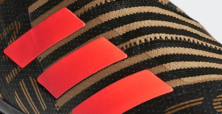 check out 578da f62c2 Exclusive Black  Red  Gold Adidas Nemeziz 17+ 360Agility Skystalker Pack Boots  Leaked