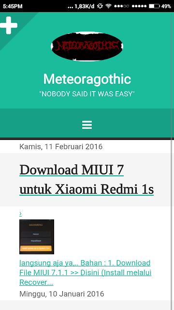 Meteoragothic
