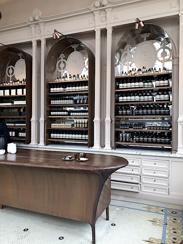 Aesop opened their first location at Amsterdam