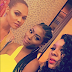 Wizkid's ex-girlfriend Tania Omotayo hangs out with Davido's babymama (Photos)