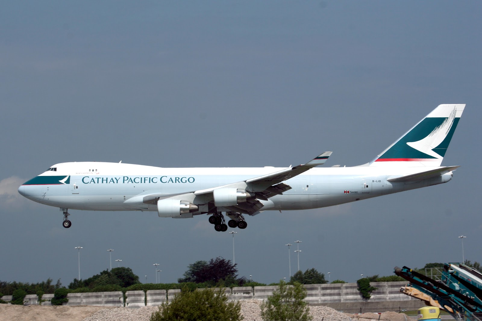 Boeing 777 Wallpaper Hd Boeing 747 400f Of Cathay Pacific Cargo Aircraft Wallpaper