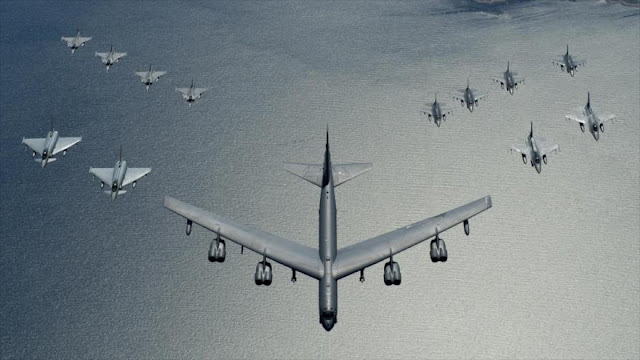 EEUU envía bombarderos para maniobras cerca de fronteras rusas