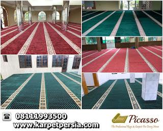Karpet Masjid Minimalis, Karpet Persia, Pusat Karpet Sajadah Terlengkap