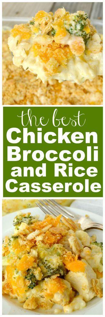 Chícken Broccolí And Ríce Casserol
