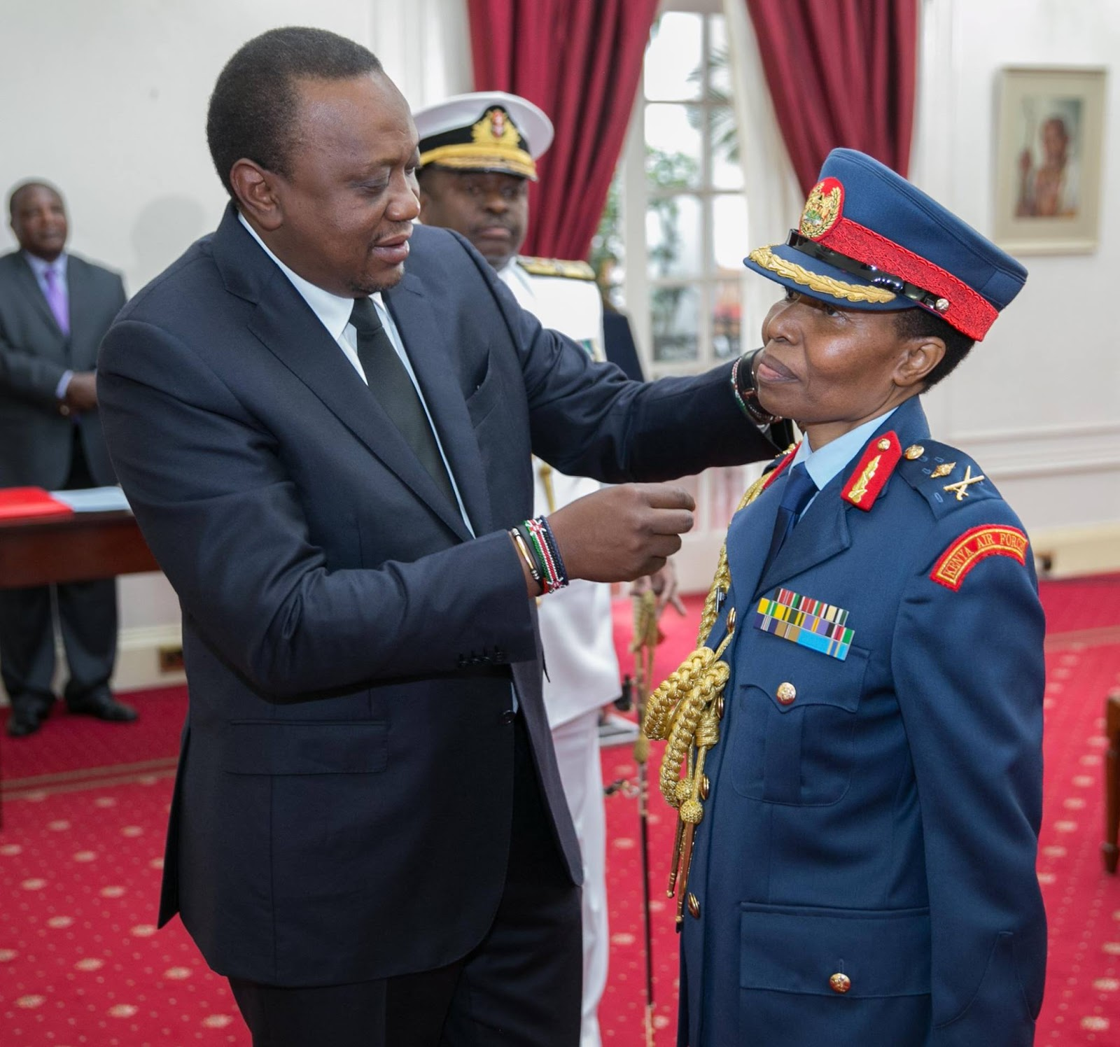 FIRST KENYAN WOMAN APPOINTED MAJOR GENERAL, AS NEW KDF
