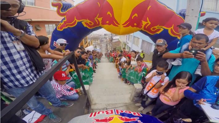 Uma volta alucinante de mtb pelas ruas de Manizales na Colômbia