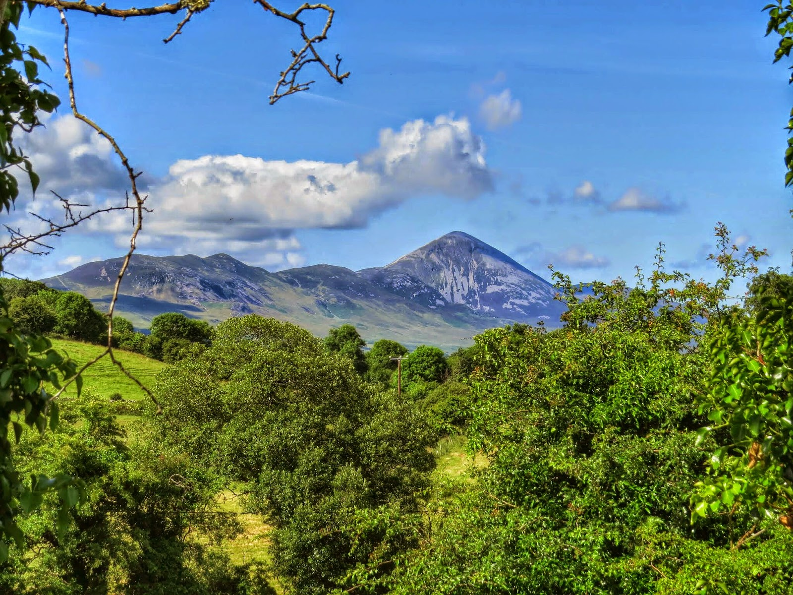 Croagh Patrick near Westport Ireland