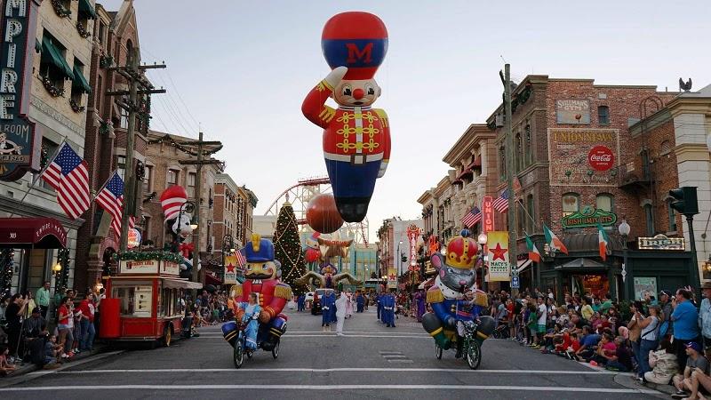 Natal no Universal Studios em Orlando