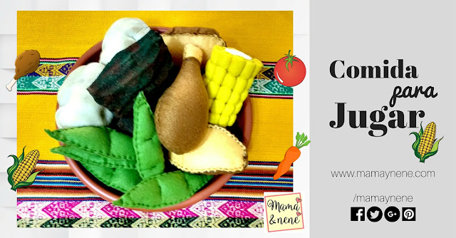 COMIDA-FOOD-FELT-FIELTRO-MANUALIDADES-JUEGO-MAMAYNENE
