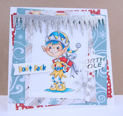 Heather's Hobbie Haven - Don't Peek Elf Card Kit
