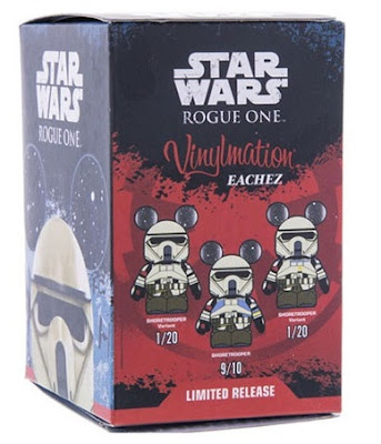 Star Wars: Rogue One Scarif Stormtrooper Eachez Vinyl Figures by Disney