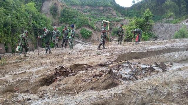 Penanaman Padi Gogo di Wilayah Kodim 0207/ Simalungun Tetap Berkelanjutan