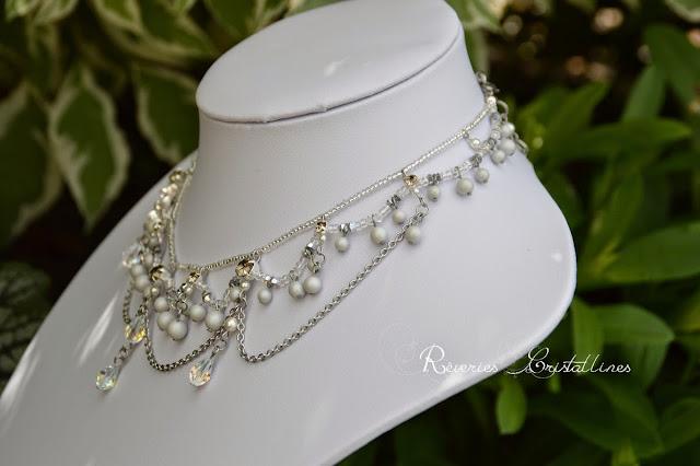 collier baroque pour soirée ou mariage