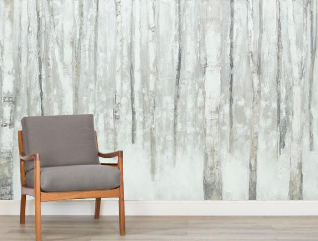 Koivu Tapetti Koivutapetti Koivumetsä Valokuvatapetit Metsä Birch Forest