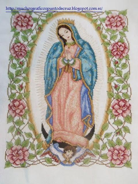 GRAFICOS PUNTO DE CRUZ GRATIS : RELIGIOSO(24)