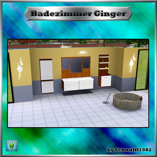 Sims Marktplatz: {S3} Badezimmer \