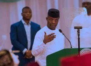 Count Me Out Of 2019 Presidency – Osinbajo