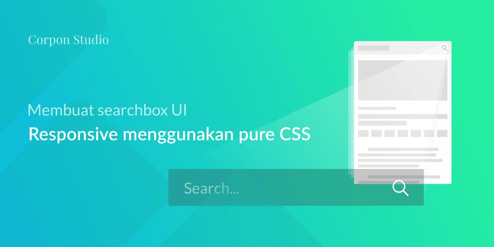 Membuat Kotak Form Pencarian CSS