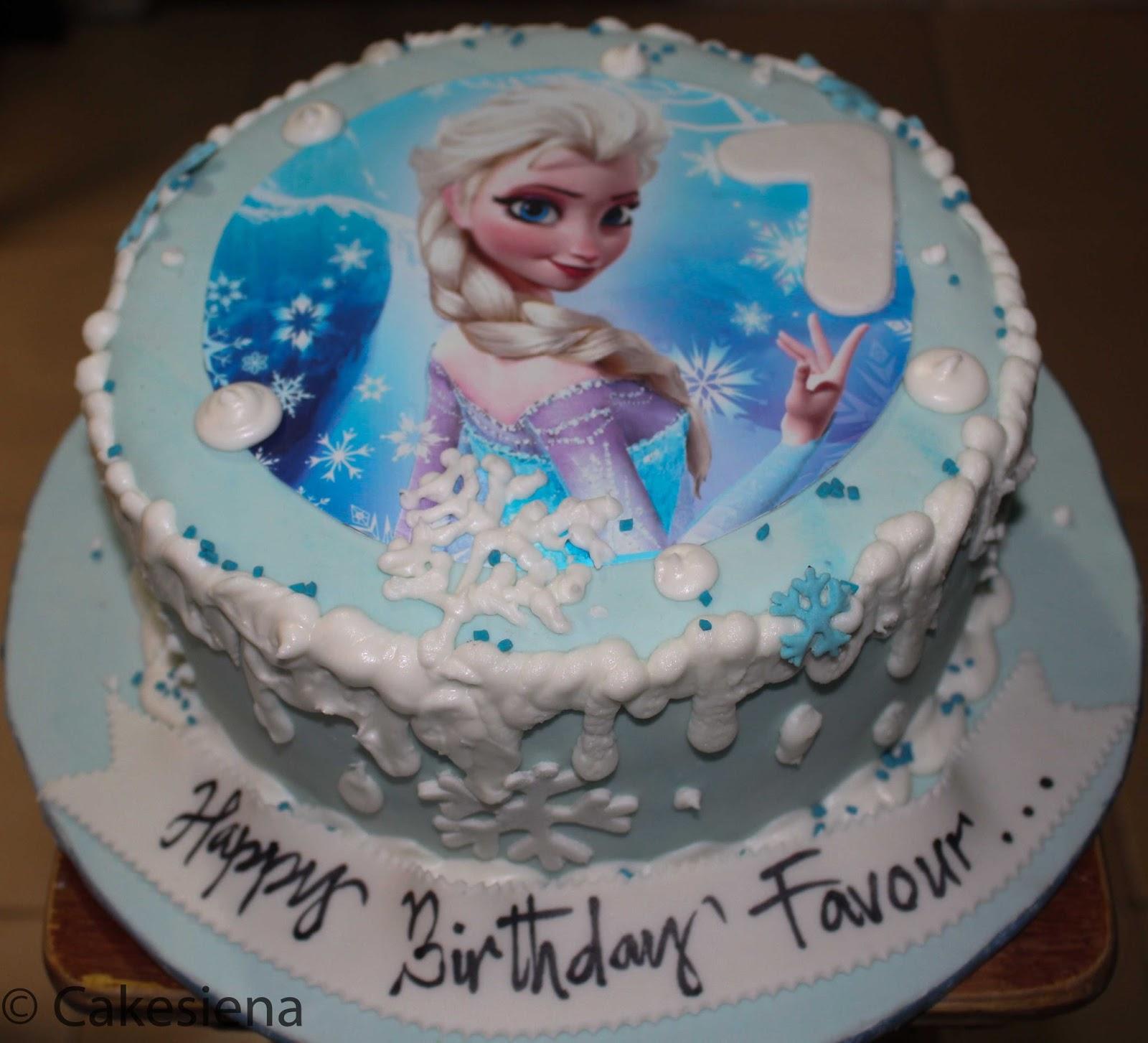 Cake Factory Disney S Frozen Elsa Cake
