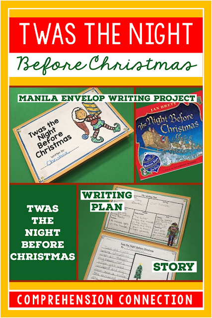 This fun writing project can be used with any version of the story, Twas the Night Before Christmas. It is part of a blog post with teaching tips using these books. Check it out over on my blog.
