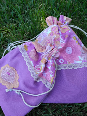 costura, couture, sewing, bolsa viaje, string bag, voyage, travel, pantuflas, pantoufle, slipper