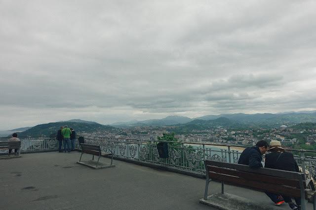 モンテ・イゲルド(Monte Igueldo)展望台